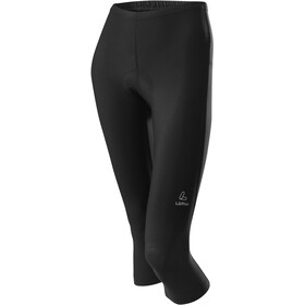 Löffler Basic 3/4 Bike Pants Women black